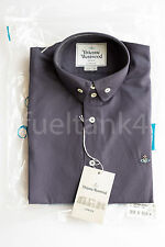 Vivienne Westwood Two Button Down Collar Navy Shirt Size 2