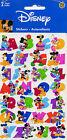 "Disney Sandylion ""DISNEY LETTERS"" Scrapbooking Stickers x (2 sheets) - 82"