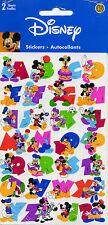"Disney Sandylion ""DISNEY LETTERS"" Scrapbooking Stickers x (2 sheets) - 83"