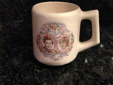 Prince Charles & Princess Diana Mug 1981 Pre-Owned