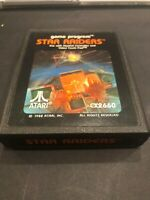 🔥 Star Raiders Atari 2600 Game Tested Free Shipping Cartridge Vintage