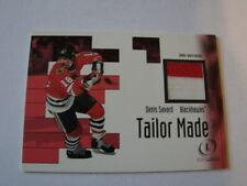 2002-03 Fleer Legacy Tailor Made Denis Savard Jersey Card Blackhawks (B23)