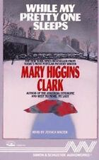WHILE MY PRETTY ONE SLEEPS Set by Mary Higgins Clark 1989 Cassette, Abridged NEW