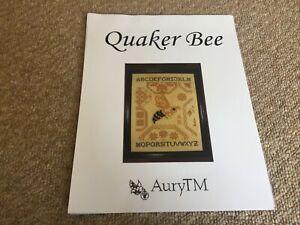 Quaker Bee Cross Stitch Chart By AuryTM