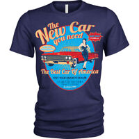 Vintage car dealer T-Shirt new car you need usa Unisex Mens