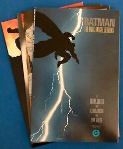 DC Comics. BATMAN: THE DARK KNIGHT RETURNS. Mini Series. #1 to 4.