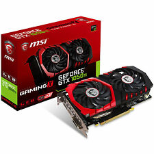 MSI nVidia GeForce GTX 1050 Ti Gaming X OC 4GB GDDR5X Graphics Video Card HDMI