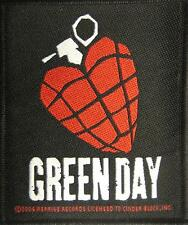 GREEN DAY PATCH / AUFNÄHER # 6 AMERICAN IDIOT - 9x8cm