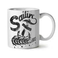 Sailing Navy Sea NEW White Tea Coffee Mug 11 oz | Wellcoda