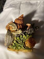 Retired Harmony Kingdom Beneath The Ever Changing Seas Royal Watch Box Figurine