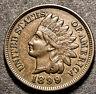 1899 Indian Head Cent 1c RPD Mint Error High Grade Type Coin AU Nice Color