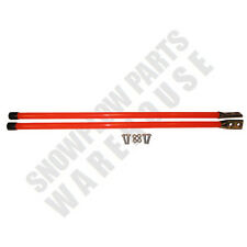 "(2) 36"" Orange Universal Snowplow Guide Stick Markers, One Set W/Hardware"