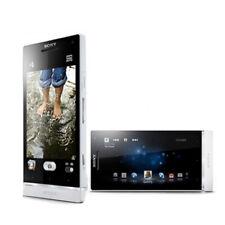 "Unlocked 4.3"" Sony Ericsson Xperia SL LT26ii 32GB 12MP 3G TELEFONO MOVIL Blanco"