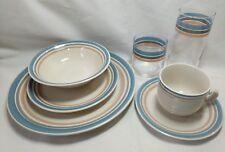 Coronado International Int'l China Stoneware Japan Plates Cup Glassware Bowl Set