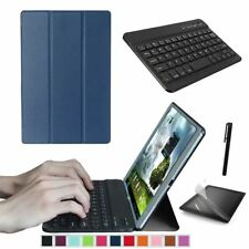 """Slim Smart Cover Case Stand for Samsung Galaxy Tab a 10.1"""" T580 / T585 Tablet PC Navy Blue"""