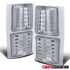 For 94-98 Chevy C/K Silverado Tahoe Suburban Clear Corner Lights Signal Lamps