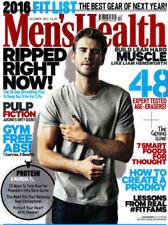 December Men's Health Health & Fitness Magazines