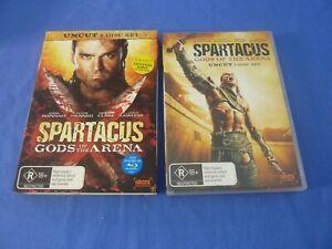 Spartacus Gods of The Arena Uncut DVD Region 4