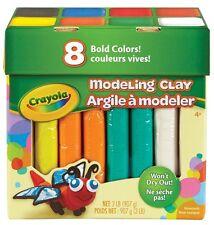 Crayola 8 Piece Modeling Clay Jumbo Color Assortment 57-0315