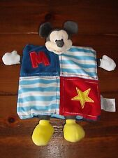 DISNEY STORE MICKEY MOUSE COMFORT BLANKET BLANKIE PUPPET