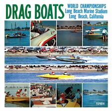 1963 Drag Boats World Championships Cd New