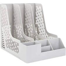 Leven Desk Organizer With Extra Storage Case Large Space Desktop Magazine File
