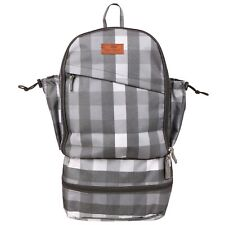 GLOBETROTTER CLEAN PLANET BACKPACK GREY CHECK