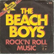45 TOURS /  2 TITRES /  THE BEACH  BOYS    ROCK N ROLL  MUSIC