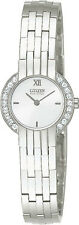Citizen EW8260-52A Ladies Watch Silhouette Eco Drive with Swarovski Crystals