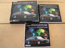 BMW OEM E38 E39 E53 E65 E66 ON BOARD NAV NAVI NAVIGATION GPS MANUALS LITERATURE