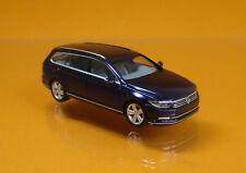 Herpa 038423-004 Volkswagen VW Passat Variant - atlanticblau metallic