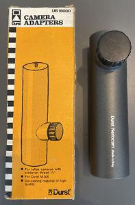 "Very Rare Vintage DURST Neriocam UB 18000 Camera Adapter for M305 Enlarger 1/4"""