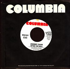 """johnny cash after the ball 7"""" promo  mono/stereo"""