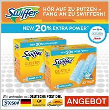 Swiffer Duster Staubmagnet Nachfüller 2x20 40 Tücher Ersatztücher 2er Pack