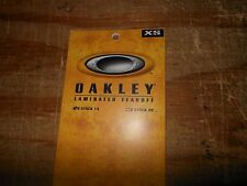 New OAKLEY Laminated D-XS 0 Frame Tear Offs 14-PACK LENS CLEAR # 01-166
