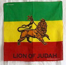 Bandana, Halstuch, Stirnband_LION OF JUDAH_ Neck scarf_Rasta, Regggae