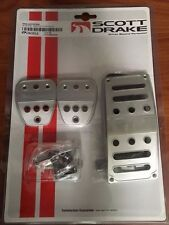 05 06 07 08 09 10 11 12 13 14 15 Mustang Billet Pedal Covers-Manual Transmission