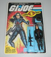 *RECARDED* 1984 GI Joe Cobra Baroness v1 Figure Complete Sealed CUSTOM Card Back