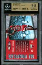 Michael Jordan Card 2005-06 Hoops MJ Profiles #mj26 BGS 9.5 (9.5 9 9.5 9.5)