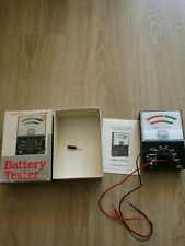 Vintage Micronta Battery Tester with Original Box 22-031 Consumer Electronics
