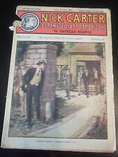 """FUMETTO """" NICK CARTER IL GRAN POLIZIOTTO AMERICANO 1930 FASCICOLO N177 IK-11-176"""