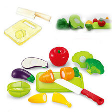 Playfully Delicious Pretend Cutting Fruits and Vegetables for Kids