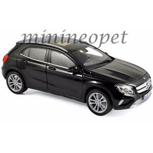 NOREV 183450 2014 14 MERCEDES BENZ GLA CLASS 1/18 DIECAST MODEL CAR BLACK