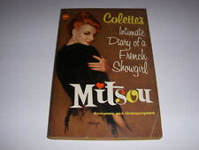MITSOU by COLETTE, Avon Book #T-269, 1957, Diary of a French Showgirl, PB!