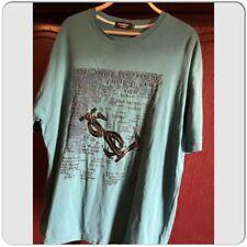 Men's Yves Saint Laurent vintage YSL Size XXL Green T-Shirt