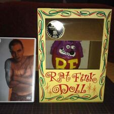 "Excellent!  Rat fink limited color doll purple ""BIG DADDY"" ED ROTH Hot Rod"