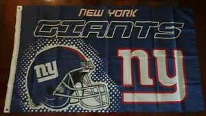 New York Giants 3x5 Flag. US seller. Free shipping within the US!!!