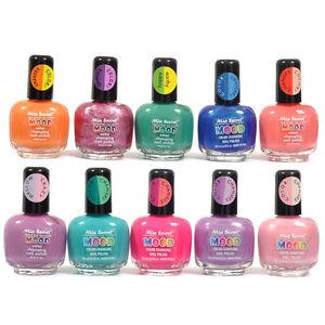Mia Secret Mood Nail Lacquer Color Changing Nail Polish 10 Colors Pick Yours Art