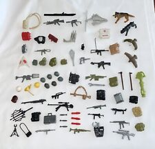 VINTAGE - GI JOE ARAH 80's  - ORIGINAL HUGE ACCESSORIES LOT - WEAPON GUNS