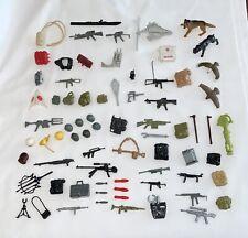Vintage - Gi Joe Arah 80's - Original Huge Accessories Lot - Weapon Guns